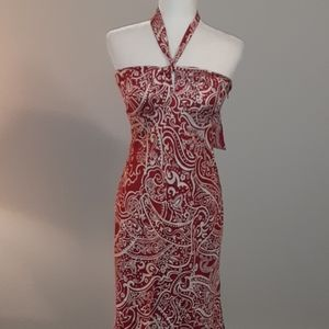 Laundry by Shelli Segal silk dress 0291c